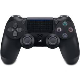 Controle Sony Dualshock 4 PS4, Sem Fio, Preto ou 12X R$ 24,64