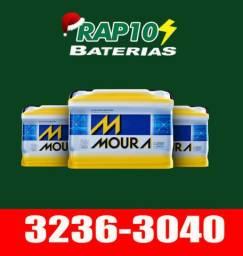 Temos baterias Moura