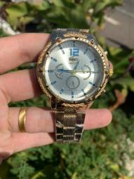 Relógios Aço Masculino Qualidade (Novo)