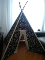 Cabana tenda infantil camuflada. NOVA!