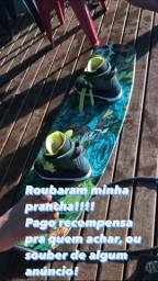 Prancha de wakeboard roubada