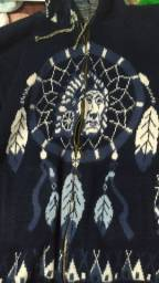 Casaco nativo americano unissex