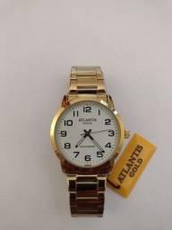 Relógio Atlantis gold + caixinha