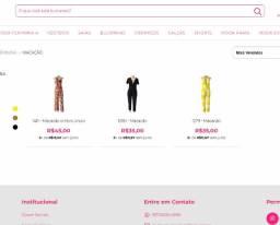Lote, atacado de Macacão com 3 peças devido a fechamento de Loja Online Migles.com.br