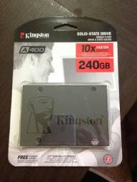 SSD Kingston 240GB A400 Lacrado!