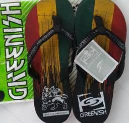 Sandalia Greenish Reggae