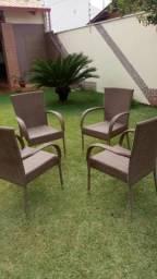 Cadeiras de vime