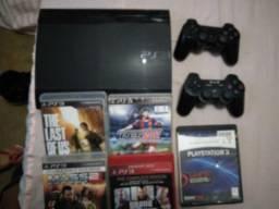 PS3 completo 250 GB