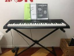 Teclado Musical Profissional Casio Ctk3200 5 Oitavas 5/8 + Suporte + Fonte