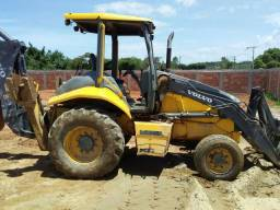 Retro escavadeira.volvo 4x4.2009