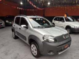 Fiat - Uno Way Evo com apenas 57.000 kms - 2012