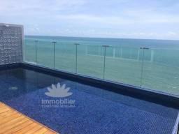 Cobertura Beira Mar Piedade Toda Decorada Mobiliada Piscina 4 Sts 450 m2 4 Vagas