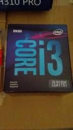 I3 9°Geração Memora DDR4 SSD novo lacrado