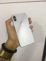 Iphone x 64gb branco seminovo, com garantia até fevereiro!