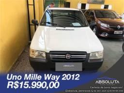 Fiat Uno 2012 Mille Way