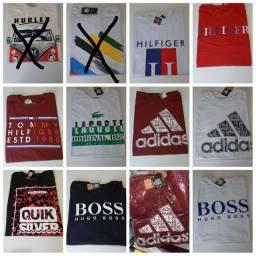 Camisas masculinas várias estampas