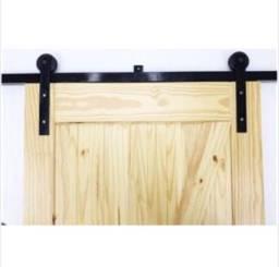 Kit trilho para porta (porta balcão, porta celeiro)