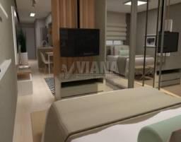 Apartamento à venda com 1 dormitórios em Vila príncipe de gales, Santo andré cod:55938
