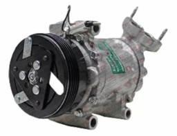 Compressor de ar sandero/logan 1.0 2015/ novo