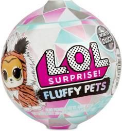 Boneca Lol Fluffy Pets 9 Surpresas Original Candide