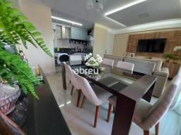 Apartamento à venda com 3 dormitórios em Tirol, Natal cod:822094