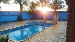 Chácara com casa e piscina, com 3 dormitórios à venda, 1300 m² por R$ 410.000 - Recanto do