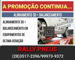 ALINHAMENTO 3D E BALANCEAMENTO