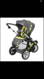 Carrinho de bebê unissex três rodas dizendo