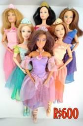 Barbie 12 princesa bailarinas