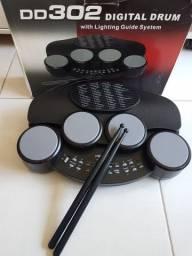Bateria eletrônica digital Drum Dd302