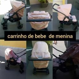Carrinho de bebê burigoto de menina