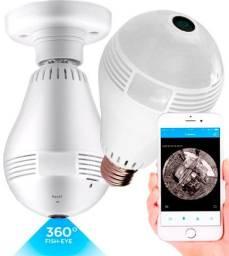 Lâmpada Câmera de Segurança 360° .
