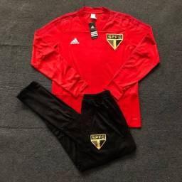 Conjunto São Paulo Adidas