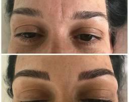 Micropigmentação de sobrancelia
