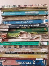 Livros científicos usados