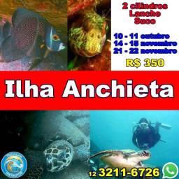Mergulho Ilha Anchieta