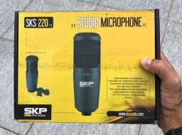 SKP | SKS-220 Microfone Condensador P/ Homestudio