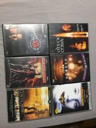 6 Dvds originais