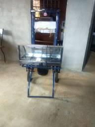 Vende se carrinho pra venda de salgados 300 reais
