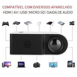 Mini Projetor C1000 Portátil 1080p - Ideal Para Atividades Com os Filhos - 110-240V
