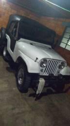 Jeep Willys Placa Preta