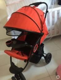 Carrinho de bebê e andador