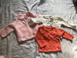 Casaquinhos tricot, no tamanho P
