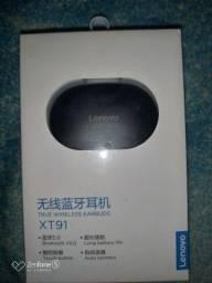 Fone Lenovo lacrado.