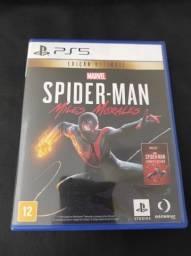 SpiderMan Miles Morales Edição Ultimate com Rematerizado Playstation 5 PS5