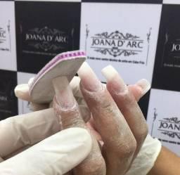 Curso de alongamento de unhas de fibra Joana D'arc