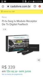 Receptor televisao Som automotivo digital