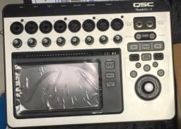 mesa de som digital touchimix 8 Canais