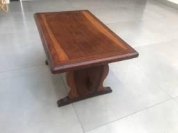 Mesa de centro em madeira maciça de Jacarandá