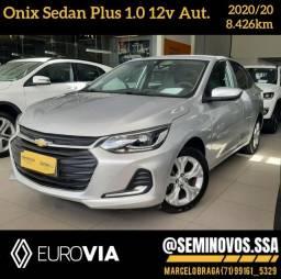 Onix Sedan 1.0 PLUS Aut 2020/20 - marcelo braga *